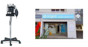 Vue de la clinique vétérinaire Argos.